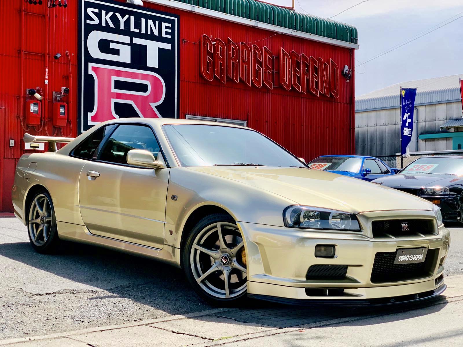 Nissan Skyline Gtr R34 For Sale >> R34 Gtr M Spec For Sale Garage Defend
