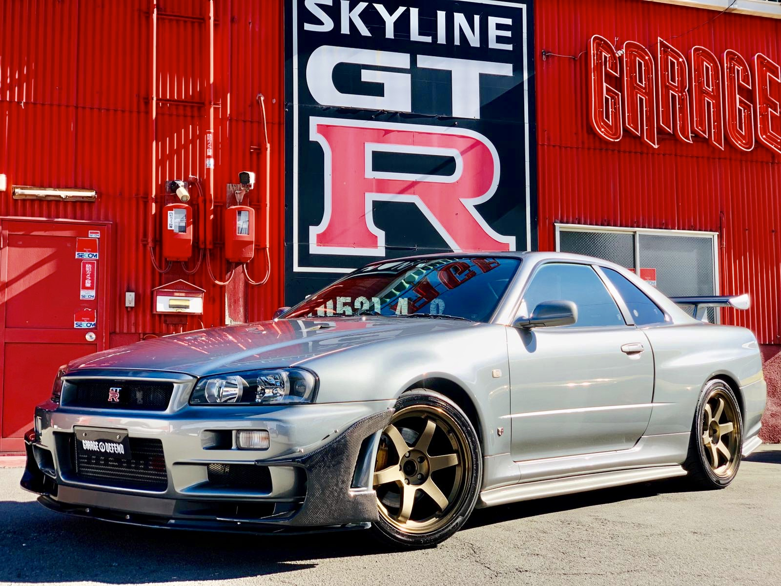 Nissan Skyline Bnr34 Gt R V Spec Ii 3431 Garage Defend