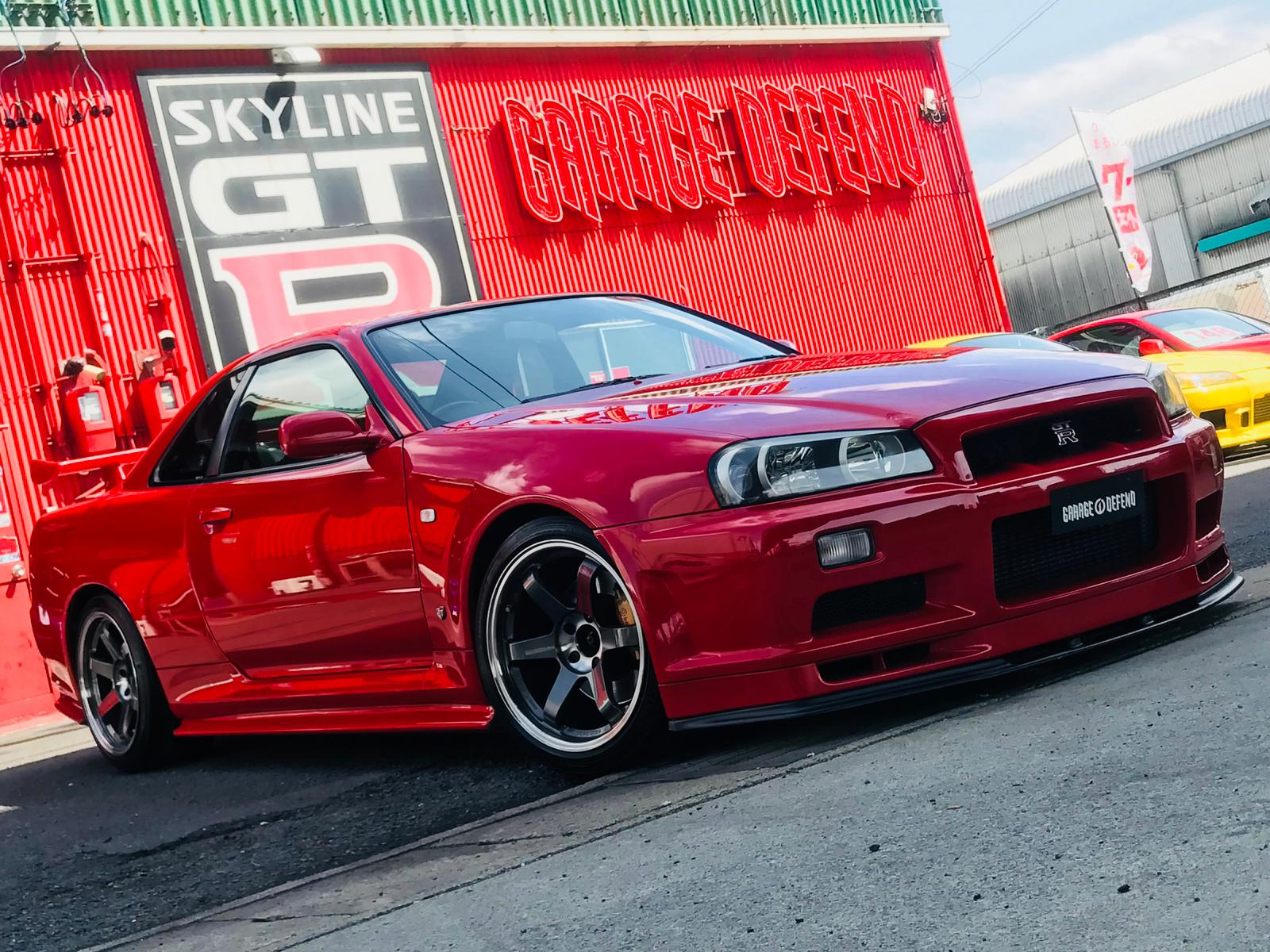 Nissan Skyline Gtr R34 For Sale >> Nissan Skyline Bnr34 Gt R For Sale 3424 Garage Defend