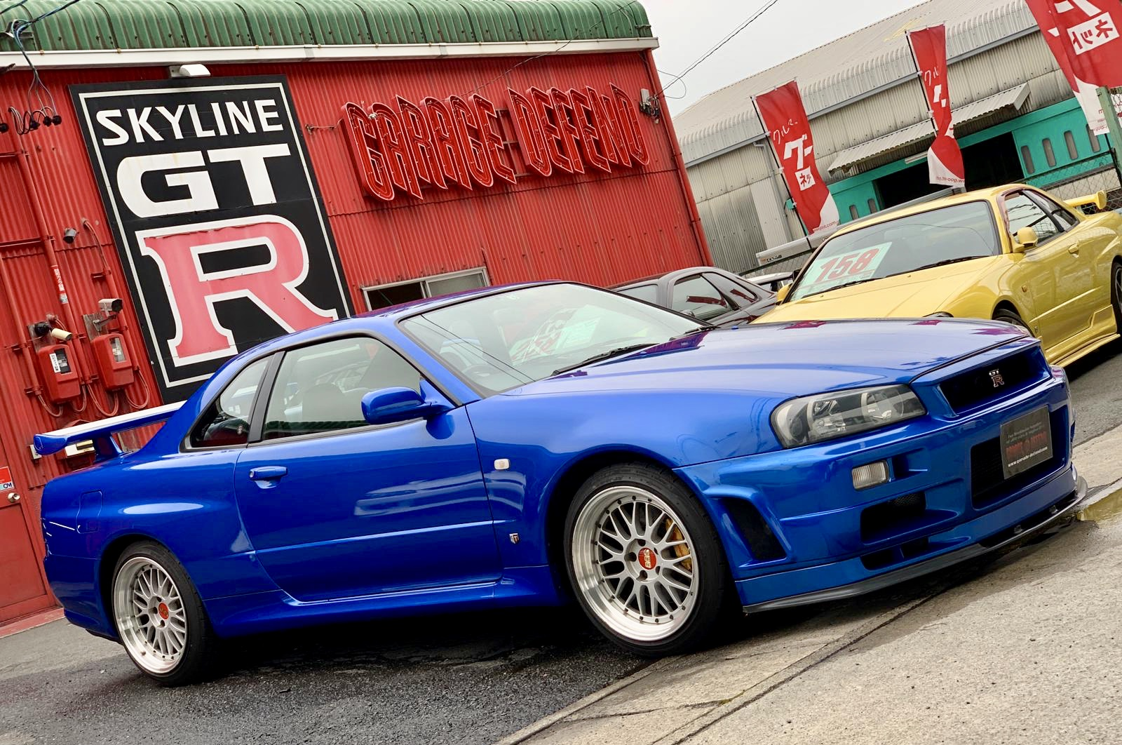 Nissan Skyline Bnr34 Gt R V Spec Ii For Sale 3446 Garage Defend
